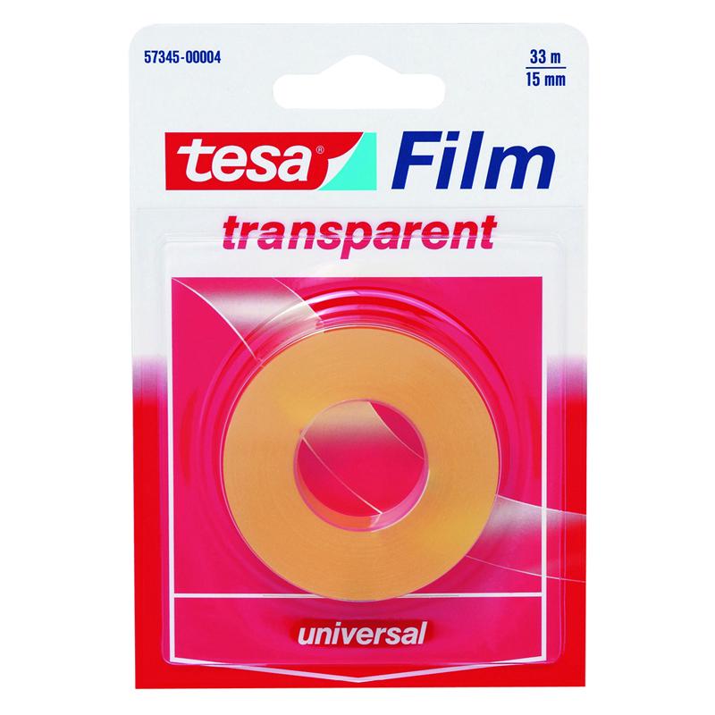 Cinta adhesiva transparente