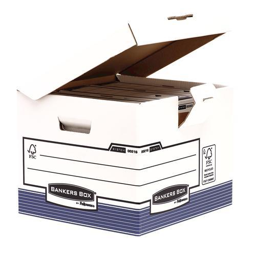 Contenedores de cajas de archivo