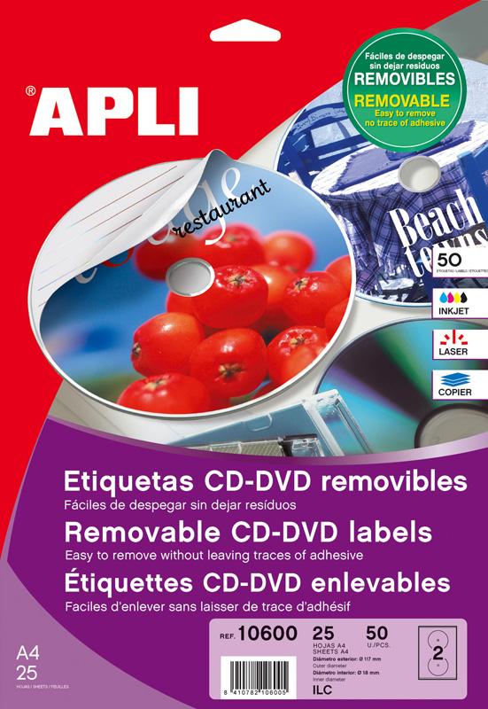 ETIQUETAS PARA CD