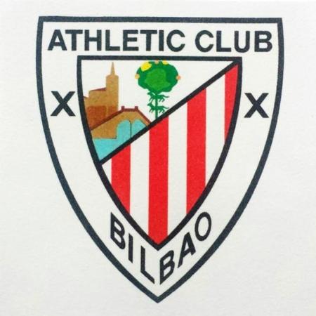 LÁMINA PARA PINTAR CON ARENA ESCUDO ATHLETIC CLUB BILBAO 30 X 30 CM