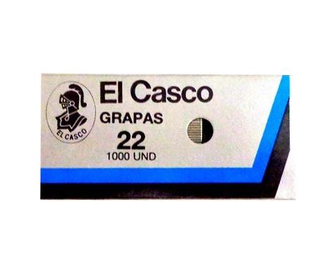 Grapas galvanizadas Casco No. 22