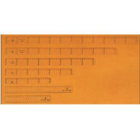 Pack 20 reglas junior de 40 cm