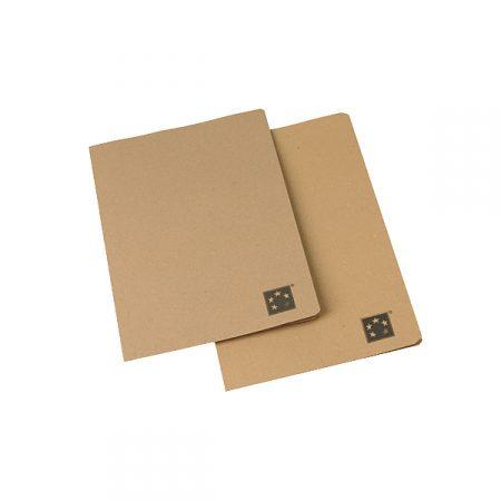 Pack de 50 subcarpetas Gio DIN A4 kraft