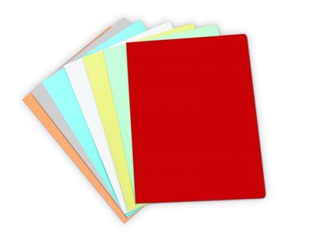Pack de 50 subcarpetas pastel DIN A4 rojo