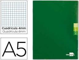 Libreta 32 h. Cuadriculado-4 mm