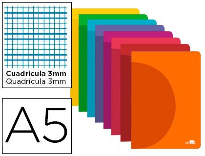Libreta 32 h. Cuadriculado-3 mm