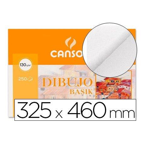 Paquete de 250 láminas de dibujo sin recuadro A3+ de 130 grs/m² Canson