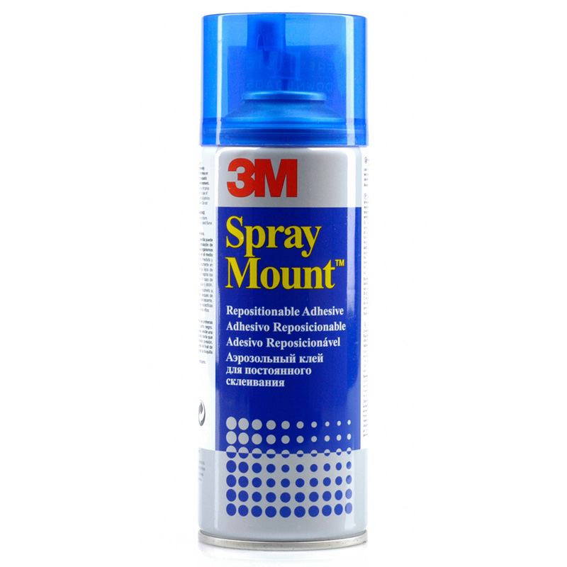 Pegamento en spray 3M Mount 400 ml.