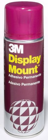 Pegamento en spray 3M Display Mount 400 ml.
