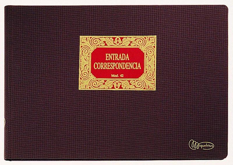 LIBRO MIQUEL RIUS Nº 75 REGISTRO DE ACCIONES NOMINATIVAS APAISADO