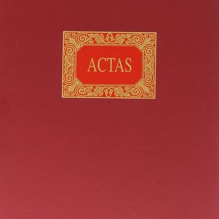 LIBRO MIQUEL RIUS Nº 4102 ACTAS