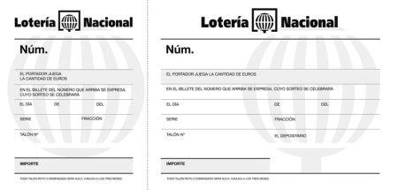 Talonario loteria  de 100 hojas ref 12915