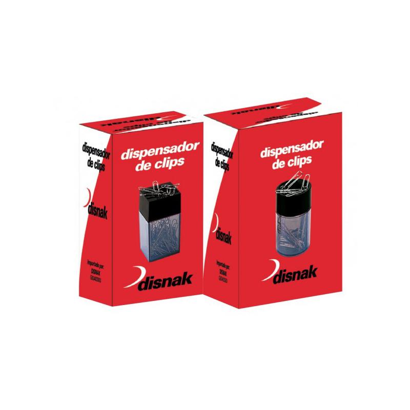 Porta clips magnetico cuadrado Disnak
