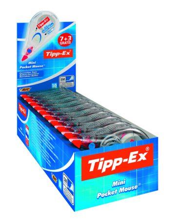 Corrector  cinta tipp-ex pocket mouse mini 4,2*9