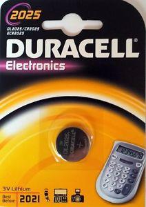 Blíster de 1 pila alcalina de botón CR2025 de 3V Duracell