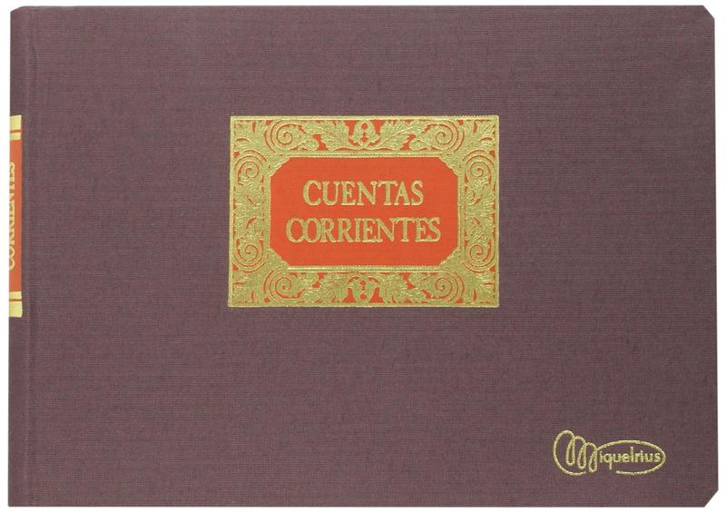 LIBRO MIQUEL RIUS RAYADO 4º APS. CTAS CORRIENTES 4080