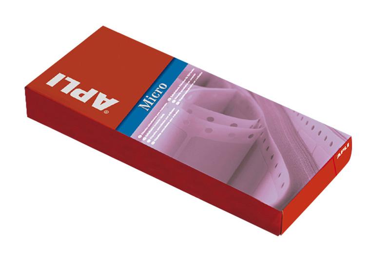 ETIQ. MATRICIAL APLI-0832.- 88'9X36 - SALIDA 2 ETIQ., 2672 etiquetas.