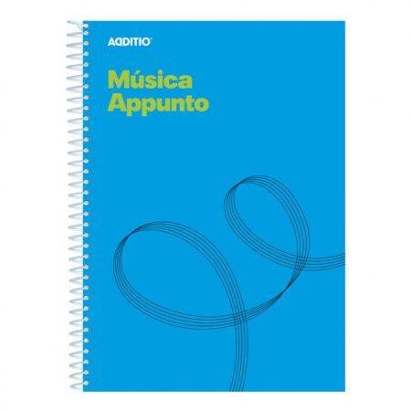 Cuaderno de música appunto Additio