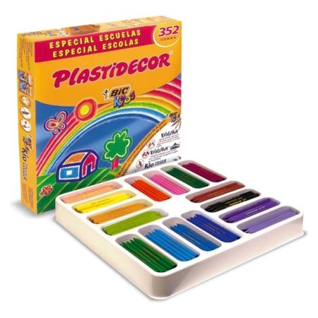 Caja de 352 uds Plastidecor Kids