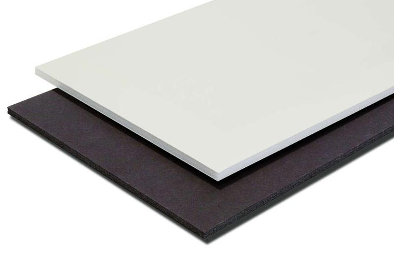 Plancha de cartón pluma blanco A4 con grosor de 5 mm