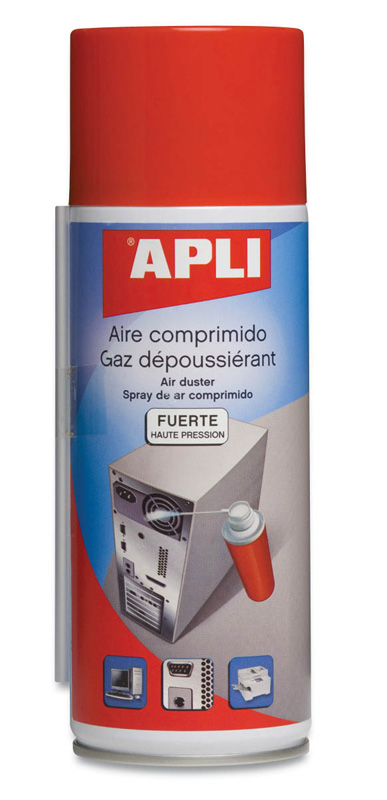 BOTE AIRE COMPRIMIDO FUERTE 300 ml APLI 11298