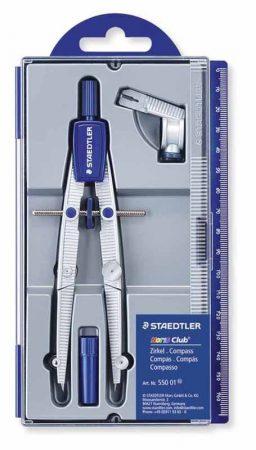 Compás con bigotera y alargadera para circunferencias hasta 395 mm Staedtler