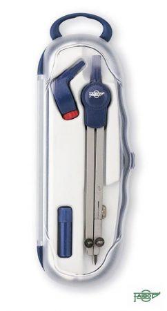 Compás para circunferencias hasta 155 mm Faibo Blue-line