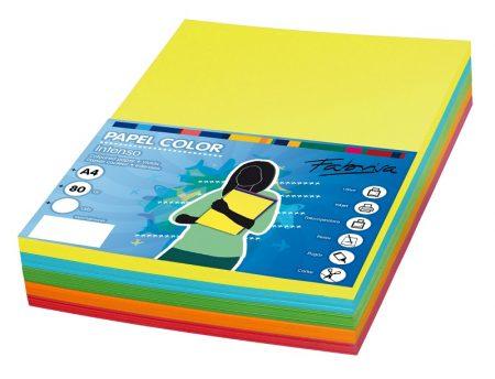 Paquete de 250 hojas de papel A4 Colores Intensos