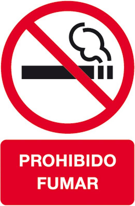 "ETIQUETAS ""PROHIBIDO FUMAR"" REF. 11342"
