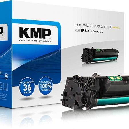 TONER COMPATIBLE KMP HP Q7553X  NEGRO