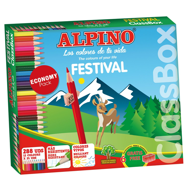 Caja 288 Alpino Festival classbox  economy pack
