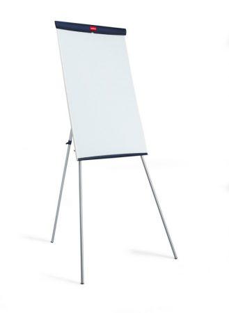 Pizarra melaminada blanca con caballete de 67,5 x 104 cm Nobo Nautile