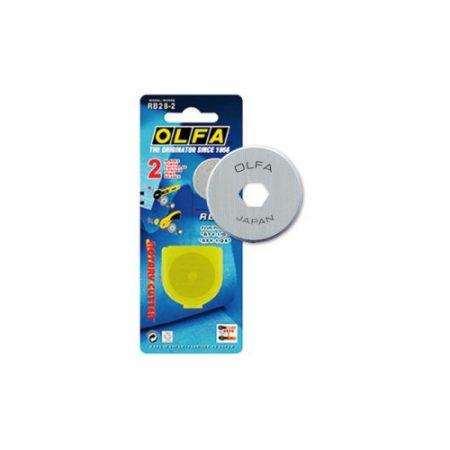 Blíster con 1 cuchilla circular de 45 mm para Olfa RTY-2/G, RTY-2/DX