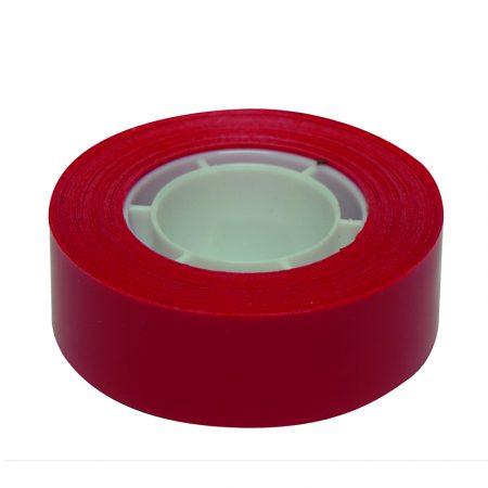 Cinta adhesiva Apli 19 mm x 33 m rojo