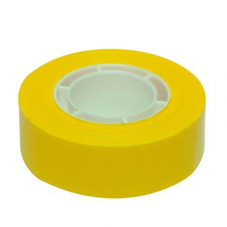 Cinta adhesiva Apli 19 mm x 33 m amarillo