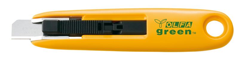 Cutter de seguridad reciclado con hoja de 12,5 mm Olfa