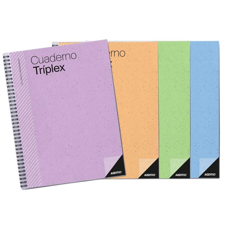 Cuaderno TRIPLEX Additio