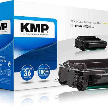 TONER COMPATIBLE KMP HP Q7551X NEGRO