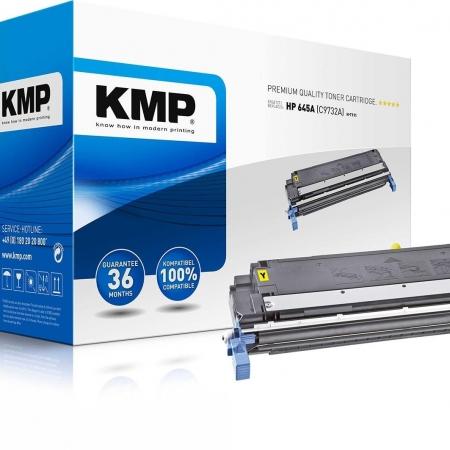 TONER COMPATIBLE KMP HP C9732A AMARILLO