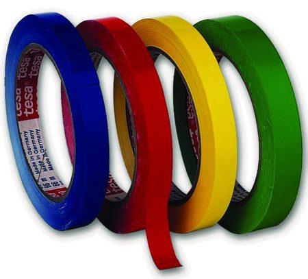 Cinta adhesiva PVC Tesa 50 mm x 66 m verde