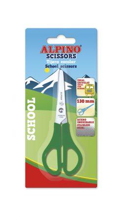 Tijera escolar para zurdos Alpino School 13 cm