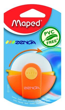Blíster de 1 goma de borrar rotativa con protector Maped Zenoa