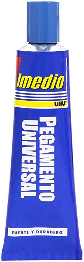 Blíster de 1 tubo de pegamento universal Imedio 18 grs.