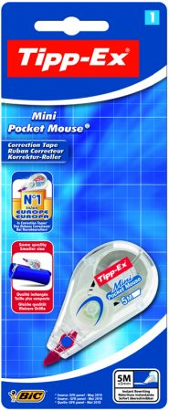B/1 corrector cinta tipp-ex mini pocket mouse