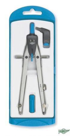 Compás con bigotera azul para circunferencias hasta 280 mm Faibo