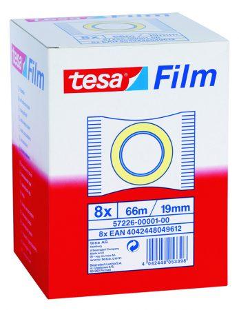 Cinta adhesiva transparente tesafilm 19mm x 66m