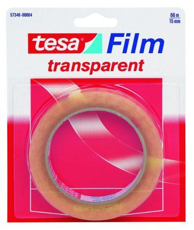 Blister de 1 cinta adhesiva transparente tesafilm 15mm x 66m