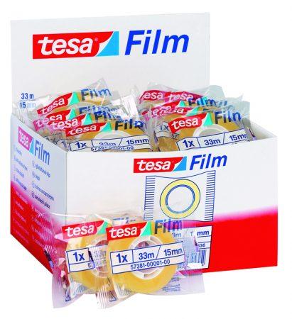 Cinta adhesiva transparente tesafilm 15mm x 33m