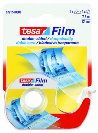 Cinta adhesiva de doble cara tesafilm con dispensador
