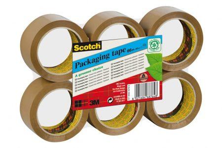 Cinta de embalaje Scotch ECO marrón 50mm x 66m